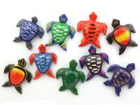 WOODEN MAGNET, SEA TURTLE