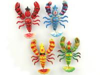 RESIN MAGNET, MOBILE PRAWN