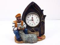 RESIN SAILOR WITH CLOCK