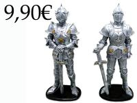 RESIN MEDIEVAL KNIGHT, COLOUR