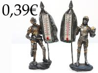 MEDIEVAL KNIGHT/TERM., RESIN
