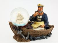RESIN SAILOR WITH BALL/VIRGIN OF CARMEN