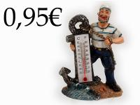 RESIN SAILOR, THERMOMETER