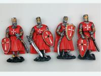 RESIN MAGNET, MEDIEVAL KNIGHT