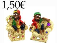 RESIN RASTA, MONEY BOX