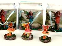 RESIN FAIRY WITH GIFT BAG