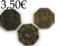 CHINESE COINS YING/YANG, 100 PIECES