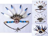 NATIVE AMERICAN HAIRBAND