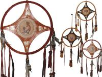 LEATHER DREAMCATCHER
